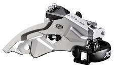 Shimano Altus FD-M370 FRONT DERAILLEUR SILVER TOP SWING 3x9 SPEED MECH 31.8 34.9