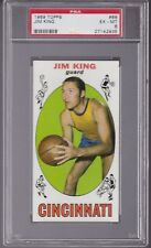 1969 - 1970 Topps Basketball #66 JIM KING PSA 6 EX/MT Cincinnati ROYALS / TULSA