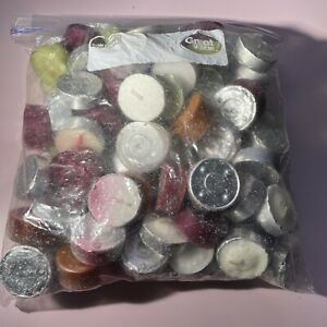 3 lbs of Voltive Tea Light Candles Mixed Colors and Scents