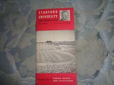 1964 STANFORD INDIANS TRACK MEDIA GUIDE Cardinal  University College & Field AD