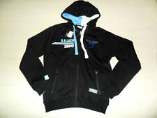 FW13 LAZIO S MACRON FELPA FULL ZIP E CAPPUCCIO JACKET HOODED HOODY TOP BLU /30