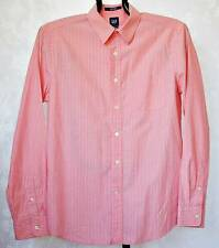 VINTAGE AUTHENTIC GAP MEN'S DRESS SHIRT COTTON-SIZE:M