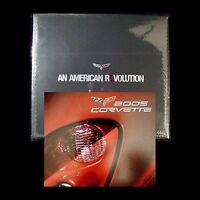 2005 COUPE CORVETTE LS2 - DEALER BOOK + DVD + NAIAS C6 BROCHURE - CHEVROLET Z51