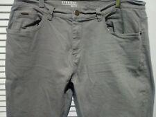 Mens George Grey Straight Leg Jeans W 42'' L 31''