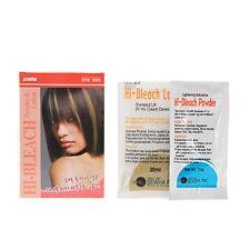 Hi Bleach Powder& Lotion  D.I.Y.Hair Quick Coloring At Home Minimize Hair Damage