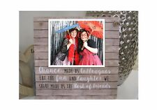 Handmade Personalised Photo Plaque Best Friend, Chance Colleagues Gift Thank you