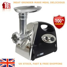 2800W Electric Meat Mincer Grinder Sausage Stuffer Filler Maker Stainless Cutter