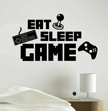 Eat Sleep Game Gaming Vinyl Decal Sticker Wall Home Decoration Call Of Duty