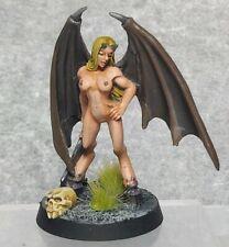 Reaper D&D Pathfinder Frostgrave RPG painted 28mm Fantasy Female Succubus Demon