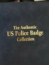 More details for usa authentic mini police badge full set