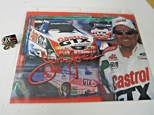 NHRA 2000 John Force Castrol 9X Funny Car Champion Drag Racing Pin &  Handout