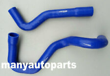 Silicone radiator heater hose for PATROL GU Y61 TD42 4.2L DIESEL 12/97-ON Blue