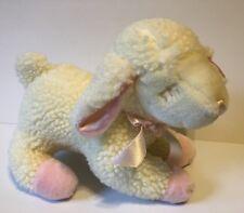 Lullaby Lamb Plush Musical Stuffed Animal Plays Jesus Loves Me Russ Baby Lamb