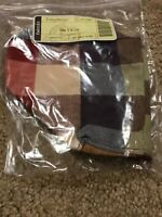 LONGABERGER Fabric Liner Only for Small Twist Basket WT Everyday Plaid NIP
