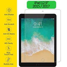 Tempered Glass Film Screen Protector Ultra Thin Clear For Apple iPad Pro 12.9""