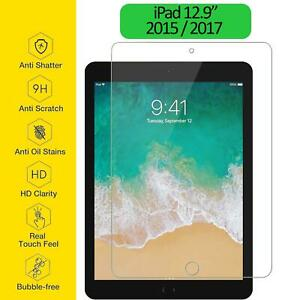 """Tempered Glass Film Screen Protector Ultra Thin Clear For Apple iPad Pro 12.9"""""""