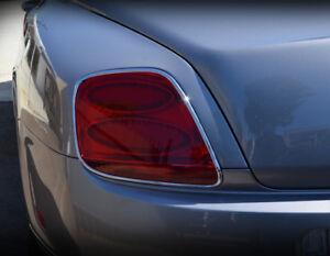 Bentley Flying Spur Chrome Taillight Surround Upgrades Set 2003-09 models