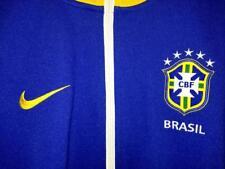 NIKE BRASIL casacca tuta uomo colore blu bianco e giallo taglia L nuova new!!