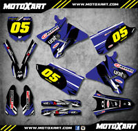 Full Custom Graphic Kit DIGGER STYLE Fits Yamaha YZ 125 2015 -2018 stickers