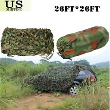 Woodland leaves Camouflage Camo Army Net Netting Camping Military Huntin 8x8M Bt