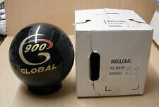 14# 2oz NIB (New In Box)  900 Global CLEAR Polyester Black/Gold Bowling Ball