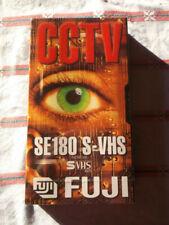 2x Fuji S-vhs CCTV Video Kassetten Leerkassette se 180