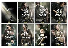 Walking Dead Terminus Tv Series Movie Postcard Set 8pcs