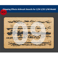 LIANG-0009 Chipping Effects Airbrush Stencil Tool for 1/24 1/35 1/48 Scale Model