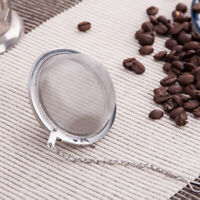 FEFA New 7cm Stainless Steel Infuser Strainer Tea Coffee Filter Spoon Spice Ball