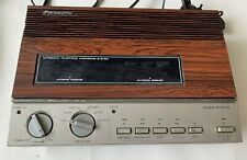 Vintage Panasonic Easa Phone KX-T1520 Answering Machine Woodgrain With Cords