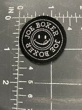 Joe Boxer Smiley Face Logo Patch Tag Apparel Clothing Brand Sleepwear Underwear