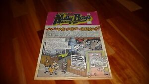 NUTTY BOYS MADNESS COMIC ISSUE 2 1981 MADNESS SKA MOD TWO TONE