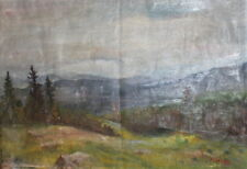 1998 Impressionst landscape oil painting signed