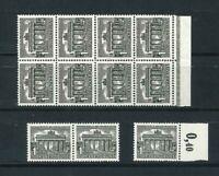 11x Berlin Mi-Nr. 42 inkl. 8er Block - Bogenrand ** postfrisch