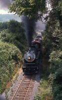 Southern? Railroad Steam Locomotive Original 1973 Photo Slide