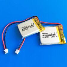 2 PEZZI 3.7V 300mAh Batteria Li Po cellule per MP3 SMART WATCH MP4 402530 JST 1.5mm