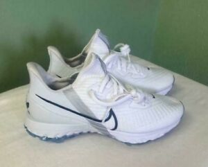 Men's Nike Air Zoom Infinity Tour Golf 'White' PGA Shoes CT0540-100 Size 10