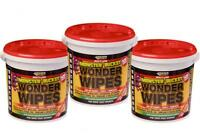Everbuild Wonder Wipes Monster 500 Wipe Tub Hand Cleaning Wipe Multi Purpose