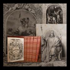 STORIA del DISPOTISMO - Fasti e Reati Papi Imperatori Re  Torino 1850 illustrato