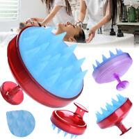 1pcs Silicone Scalp Shampoo Massage Brush Washing Massager Shower Head Hair Comb