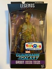 Marvel Legends MCU GROOT Evolution Guardians of the Galaxy Toys R Us Exclusive