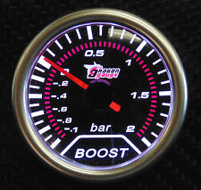 "52mm 2 ""turbo boost gauge -1 à 2 bars Audi TT A3 S3 A4 A6 VW Golf Passat"