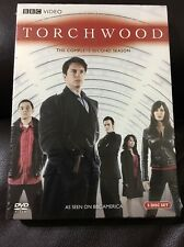 Torchwood - The Complete Second Season (DVD, 2008, 5-Disc Set)