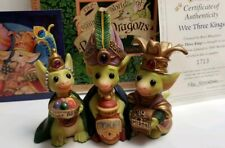"""Wee Three Kings"" Whimsical World of Pocket Dragons by Real Musgrave with Box"