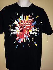 VINTAGE  ROLLING STONES BIGGER BANG TOUR 2006 L T- SHIRT ROCK  OUT OF PRINT