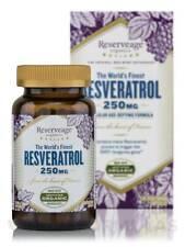 Reserveage Resveratrol 250mg 120 vegcaps