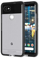 Tech21 Black Smoke EVO Check Anti-Shock Case TPU Cover for Google Pixel 2