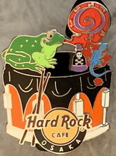 Hard Rock Cafe UC OSAKA 2014 Wizard Series PIN #3 Frog on Snare Drum HRC #78767
