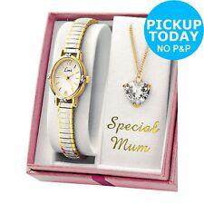 Limit Ladies Special Mum Necklace and Quartz Movement Analogue Watch Set