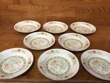 "Set of Four - 8 3//8/"" MIKASA china KABUKI L9011 pattern Soup//Salad Bowl 4"